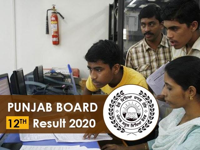 PSEB 12th Result 2020, Punjab Board Results 2020 @ pseb.ac.in