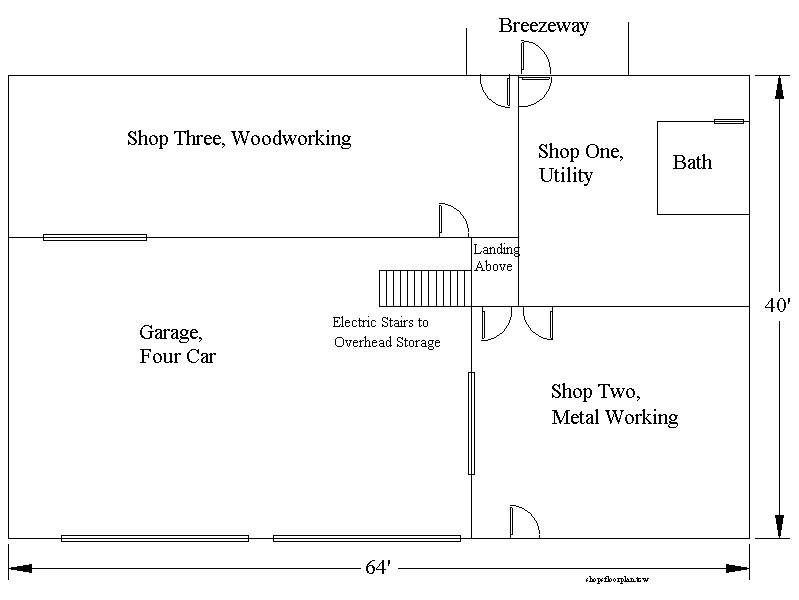 Auto shop layout best layout room for Auto floor plan