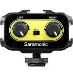Saramonic SR-AX100 Universal Audio Adapter Yellow