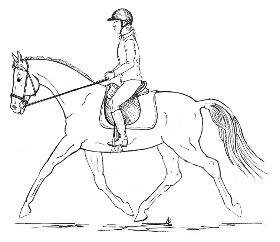 Coloring Pages Of People Riding Horses Coloring Pages
