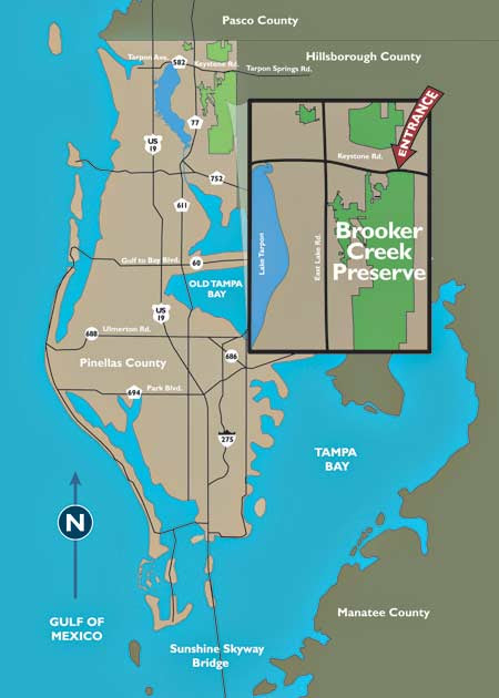 Pinellas County Trail Map