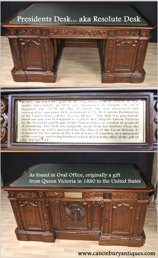Canonbury - Presidents Desk