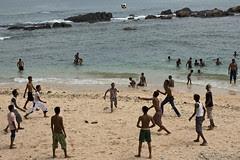 Beach Soccer, Galle, Sri Lanka