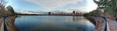 Central Park Reservoir Panorama #4