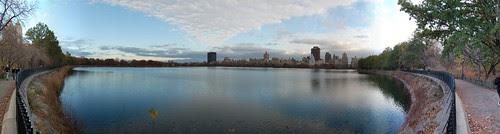 Central Park Reservoir Panorama #4