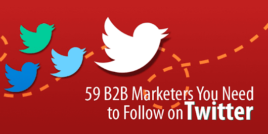 59 B2B Marketing Influencers You Need to Follow on Twitter - Capterra Blog