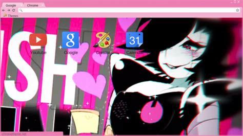 Mettaton   Undertale Chrome Theme   ThemeBeta