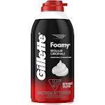 Gillette Foamy Regular Shave Foam - 11 oz can