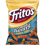 Fritos Flavor Twists Corn Snacks, Honey BBQ Flavored - 9.25 oz