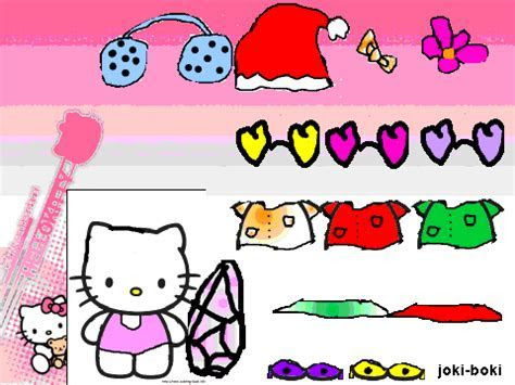 Ema Hairstyles: Hello Kitty dress up games