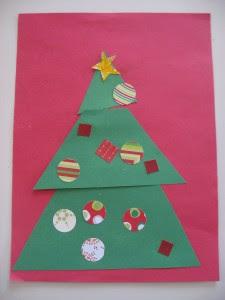 Christmas Tree Kids Craft