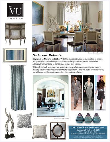 inVU Fall Trends 2011 Natural Eclectic