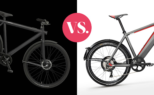 Battle: VanMoof Electrified S vs. Stromer ST2 - Emerce