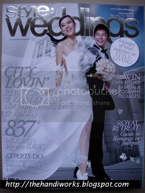 Singapore Style Weddings magazine 2011