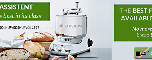 The Ankarsrum Kitchen Assistent Food Mixer - the Best in its Class!