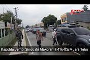 VIDEO: Kapolda Jambi Singgah di Makoramil 416-05/Muara Tebo