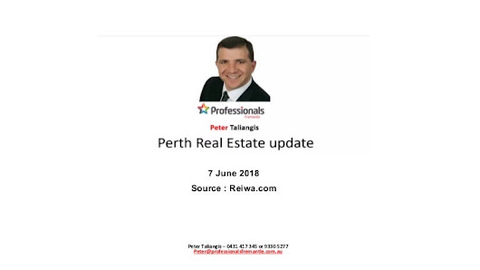 Perth Real Estate, June 7th 2018 - Real Estate Market Update