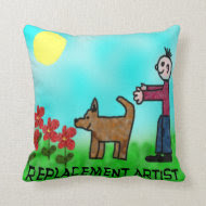 Replacement Artist Pillows