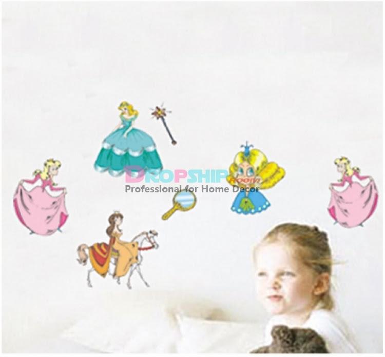 Compare Princess Wall Decor-Source Princess Wall Decor by ...