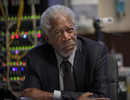 Morgan Freeman Full Body Shot