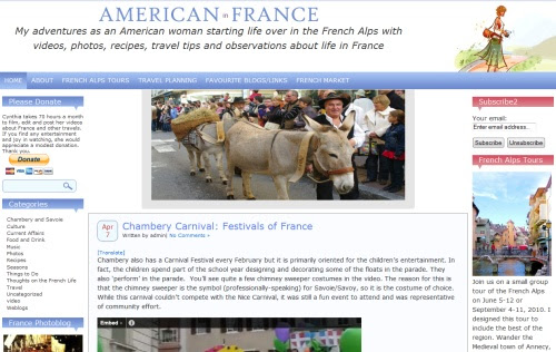 Video Diary of an American in France