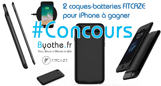 #Concours : 2 coques-batteries FITCAZE pour iPhone à gagner ! | Byothe