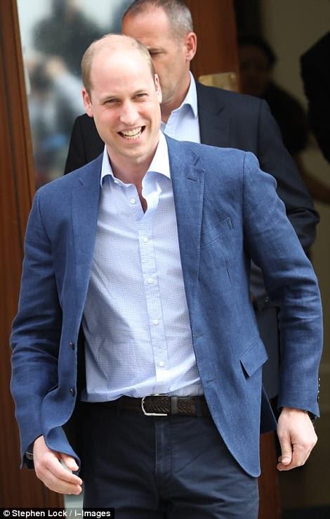 Se espera que William regrese al hospital con sus otros hijos