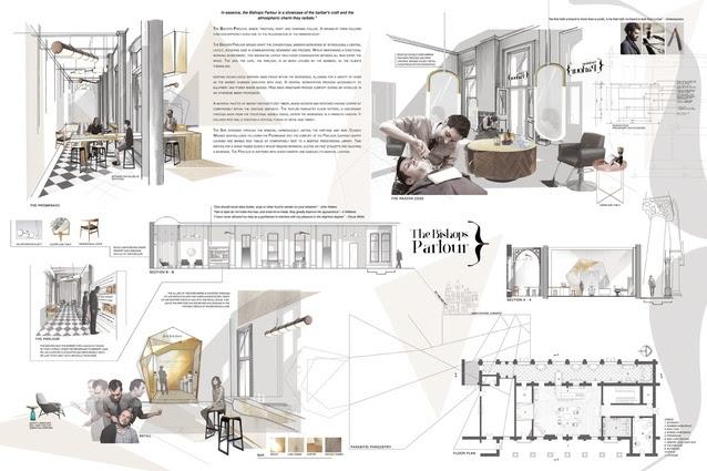 Interior Design Portfolio Layout Examples Professional ...