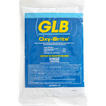 GLB Oxy-Brite Non-Chlorine Shock Oxidizer with Blue Water Brightening Crystals 1lb Bag - White