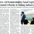 Fishermen & Environmentalists Work Together To Reform Fishing | SPNI