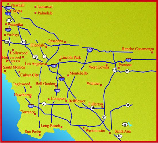 California Dmv Map   GOOGLESAND on