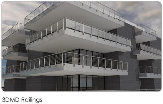 3D railings for ArchiCAD