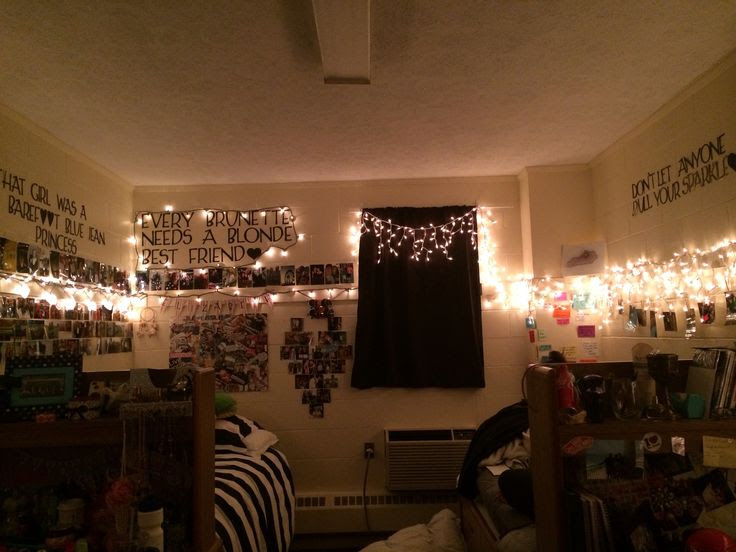 christmas lights dorm room christmas ideas