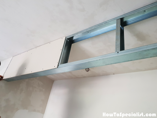 How to Frame a Metal Stud Beam | HowToSpecialist - How to Build, Step by Step DIY Plans