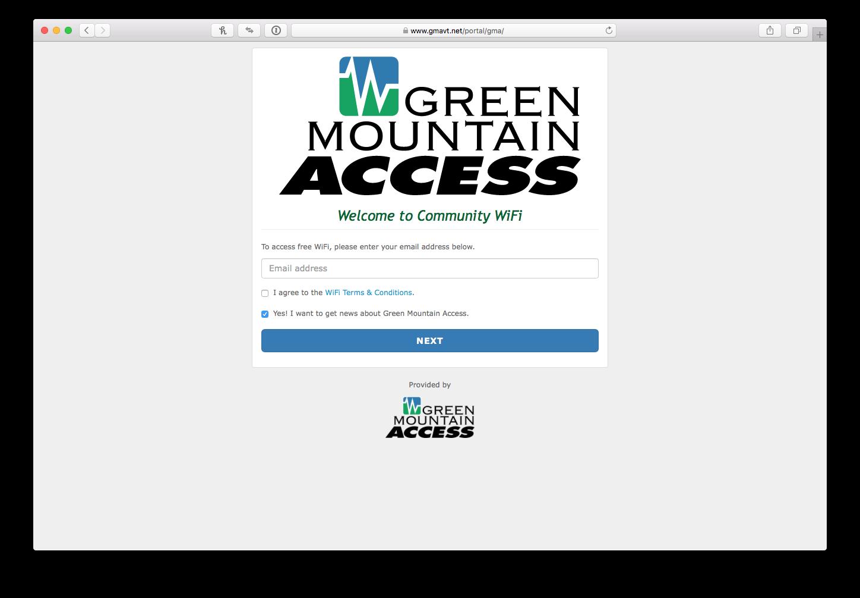 Business Class Wi-Fi - Green Mountain Access
