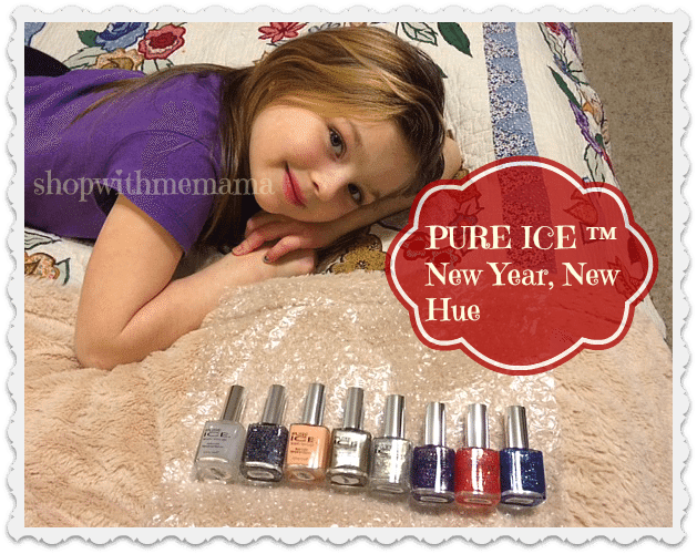 Pure Ice  New Year New Hue Collection nail polishes