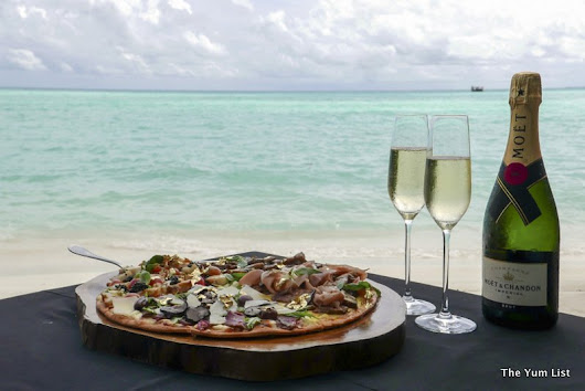 The 200-Dollar Pizza, Taj Exotica Resort and Spa Maldives - The Yum List
