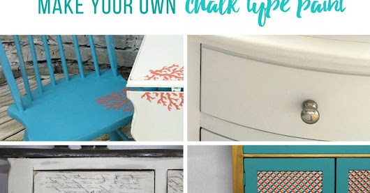 Stop Paying for Over Priced Chalk Paint & MAKE YOUR OWN