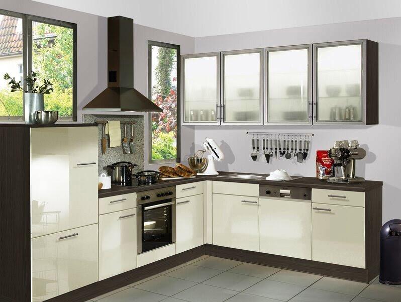 colors L shaped kitchen designs