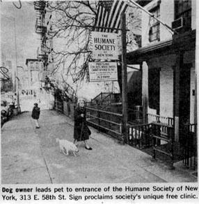313 East 58th Street, Humane Society of New York