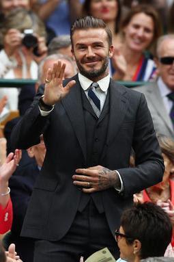 David Beckham Wimbledon July 2 16 Star Style Man