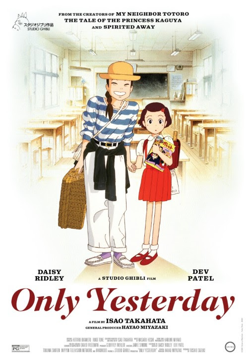 Only Yesterday, featuring Daisy Ridley from The Force Awakens