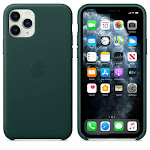 Brand New Apple iPhone 11 Pro Forest Green Leather Case