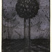 Between earth and sky06,(2-50),複合媒材,16×22cm,1999