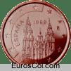 Moneda de 5 centimos de España (1a edicion)