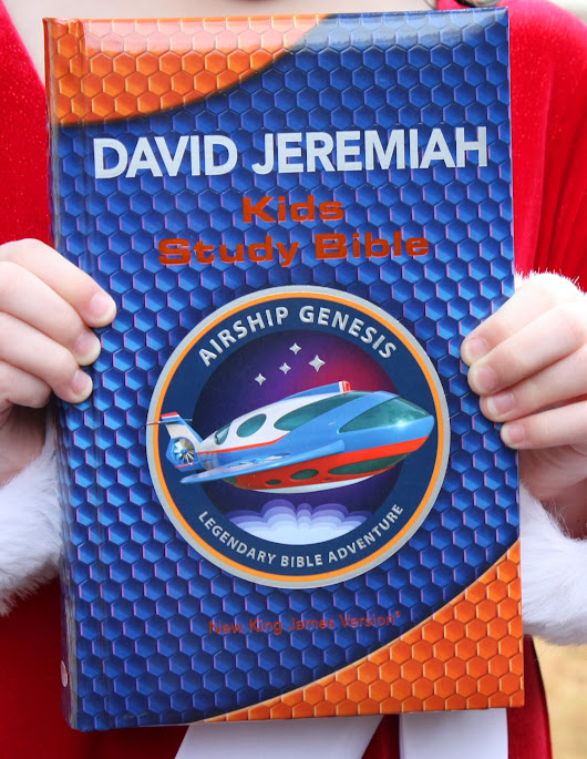 Airship Genesis Kids Study Bible ~ Review and Giveaway (U.S.- 12/13)