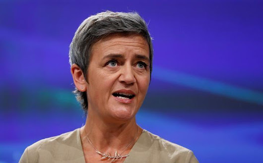 EU's Vestager to brief Google CEO ahead of record Android fine: source