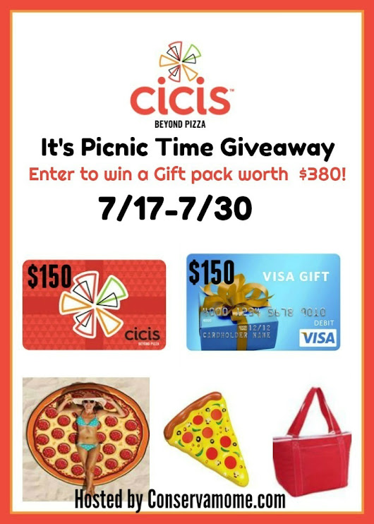 Cici's Giveaway Event