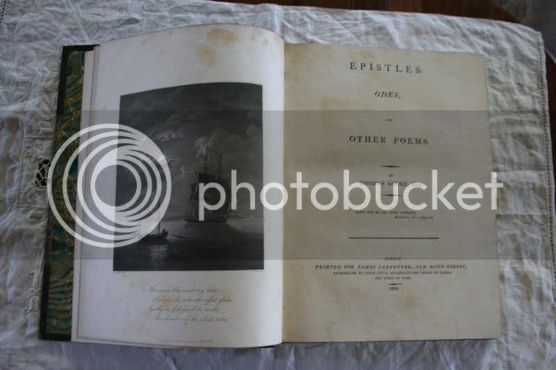 rare book thomas moore epistles, odes, etc. 1806 first edition