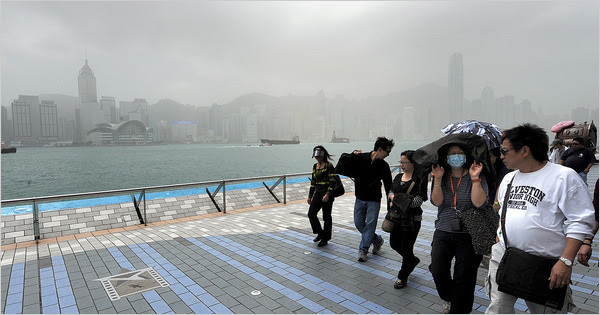 Hong Kong Issues Warning As Air Pollution Sets Record